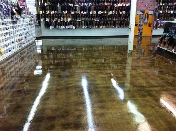 Reflective Floor Commercial Floors Vegas Hardscape Las Vegas, NV