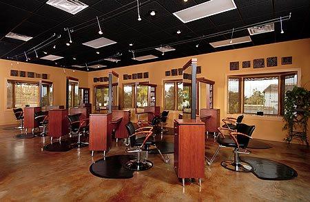 Salon Floor Commercial Floors Classic Surfaces Inc. Altamonte Springs, FL