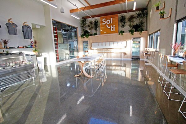 Solt Tasting Room, Grind And Seal Commercial Floors Life Deck Coating Installations San Diego, CA