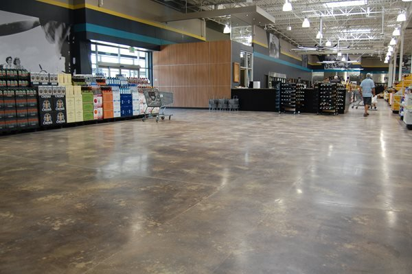 Stained Concrete Floors, Wine Store Commercial Floors Table Mountain Creative Concrete Golden, CO