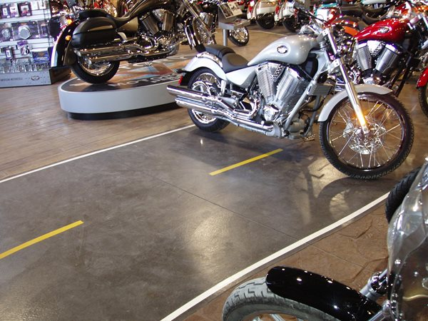 Stencil, Stain Commercial Floors Bulach Custom Rock Inver Grove Heights, MN