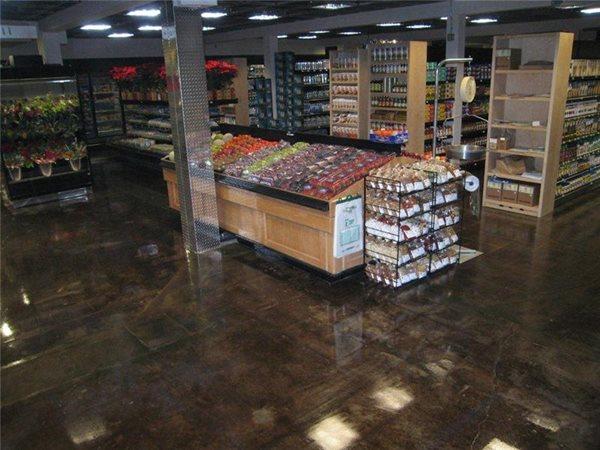 Supermarket Floor Commercial Floors Impressive Concrete Inc. Montrose, CO