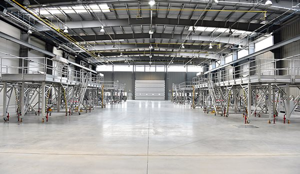 Warehouse, Concrete Commercial Floors Performance Floor Systems, Inc Orange, CA
