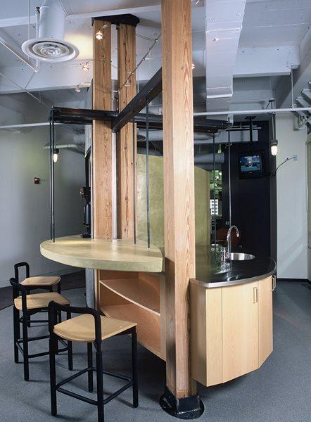 Bar, Modern, Metal Concrete Countertops Art and Maison Inc. Miami, FL