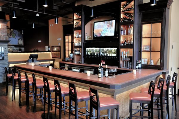 Concrete Bar Counter Concrete Countertops Kulish Design Co LLC Springfield, VA