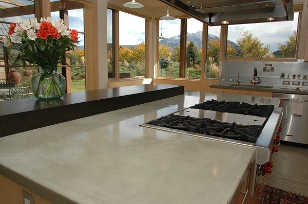 Concrete Countertop Counters Countertops Concrete Countertops Innovative Concrete & Design Carbondale, CO