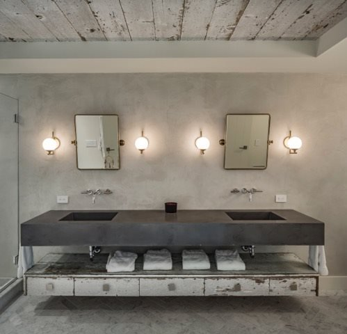Counters, Bathroom Concrete Countertops Concrete Central Deer Park, NY