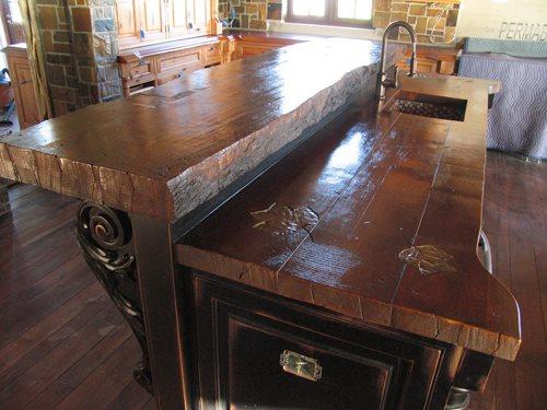 Fake Wood Counters Concrete Countertops JM Lifestyles Randolph, NJ