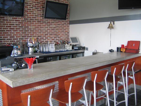 Grey, Bar Concrete Countertops Hart Concrete Design Costa Mesa, CA