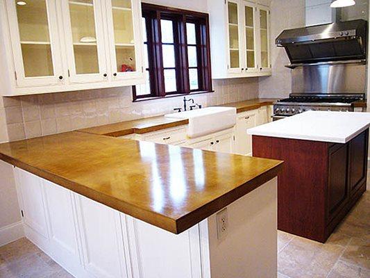 Kitchen, Countertops Concrete Countertops Set In Concrete LLC Houston, TX
