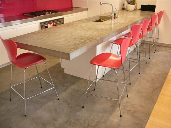 Concrete Countertops Oso Industries Brooklyn, NY