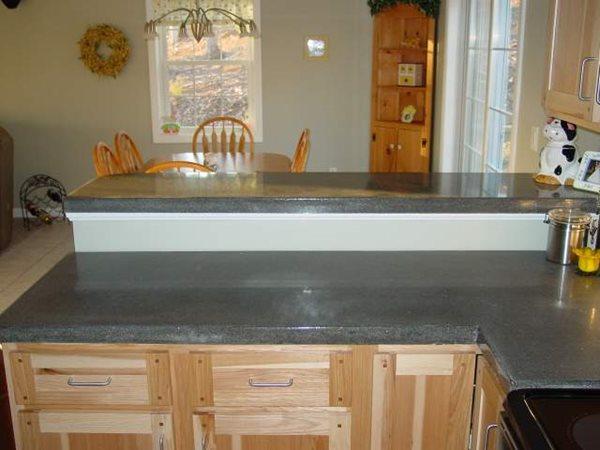 Sc Bar Concrete Countertops Stonecraft Inc. Buxton, ME