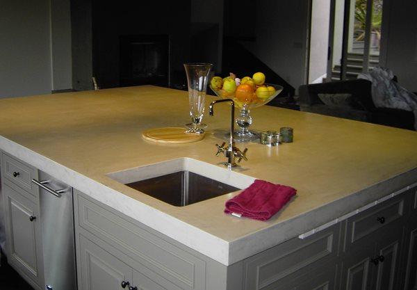 Concrete Countertops Touchstone Cement Inc. Windsor, CA
