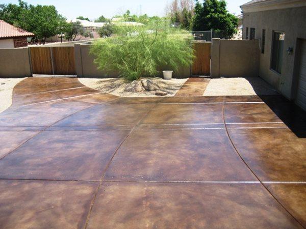 Concrete Driveways Arizona Creative Coatings Phoenix, AZ