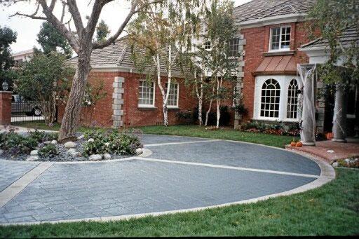 Concrete Driveways C&N Decorative Concrete Creations Newbury Park, CA
