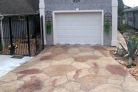 Entrance, Driveway Concrete Driveways Floortastic by Jeffrey Phoenix, AZ