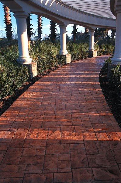 Red, Stones Concrete Driveways Superstone Inc Opa-Locka, FL