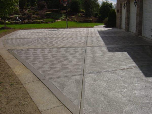 Swirls, Aggregate Concrete Driveways SA Construction Inc Canonsburg, PA