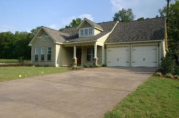 Concrete Driveways Wright Homes McCalla, Alabama