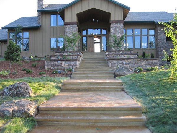 Concrete Entryways Concrete911 Roseville, CA