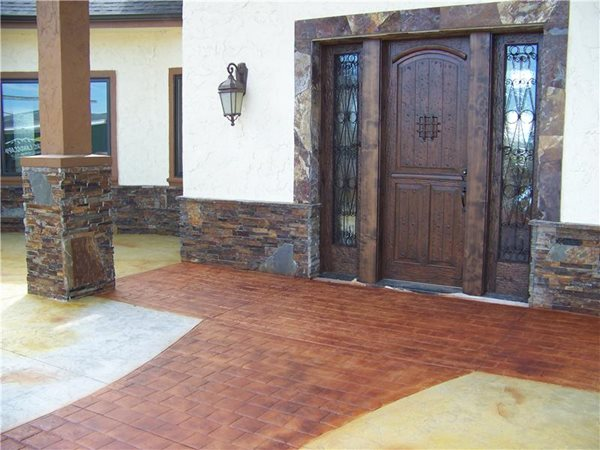 Concrete Entryways Oregon Concrete Construction, Inc. Terrebonne, OR