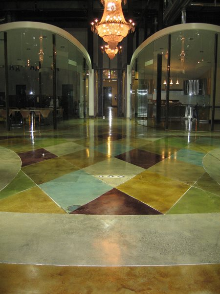 Stained Concrete Floor, Stained Concrete, Concrete Staining Concrete Floor Overlay Demmert & Associates Glendale, CA
