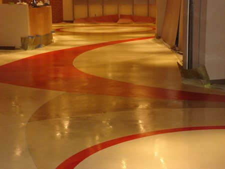 Concrete Floor Overlay Stephens and Smith Construction Lincoln, NE