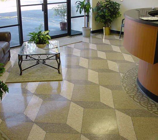 3-D Floor, Concrete 3-D, Dimensional Concrete Concrete Floors Summit Decorative Concrete Golden, CO