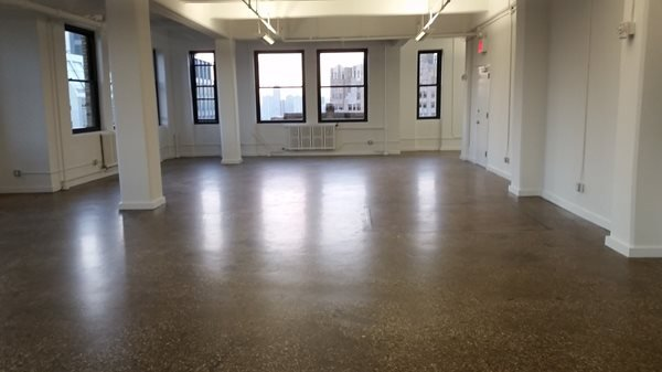 Brown, High-Rise, New York Concrete Floors Quality Polishing Surfaces, Inc. ELMHURST, NY