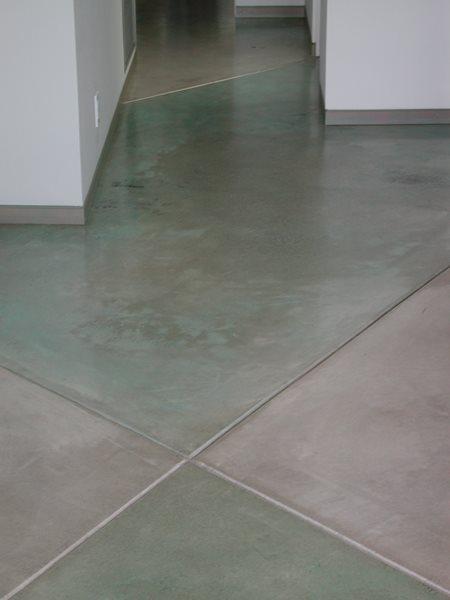 Checkerboard, Green Concrete Floors Masterpiece Concrete Compositions Oceanside, CA