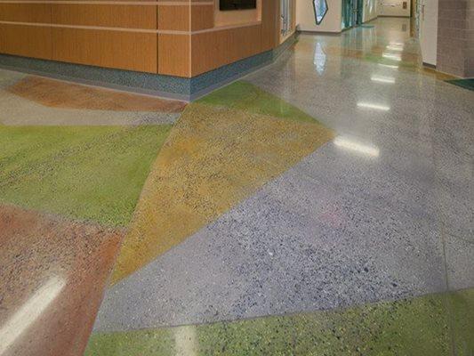 Color, Polished Concrete Floors K & J Concrete Polishing Inc Knoxville, TN