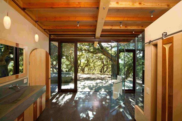 Concrete Bathroom Floor, Cast Sink Concrete Floors Wolcott Concrete San Luis Obispo, CA