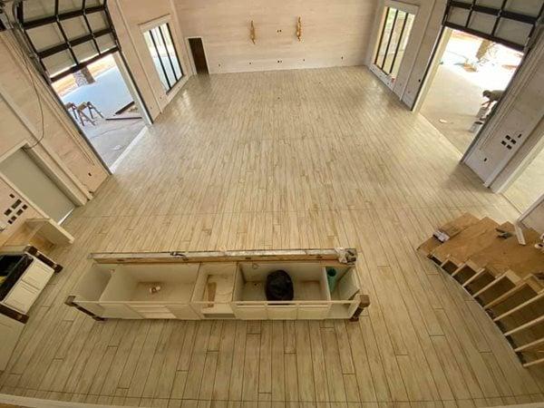 Concrete Floor, Wood Floor, Wood Look, Decorative Concrete, Concrete Wood Concrete Floors Precision Floor Care Wetumpka, AL