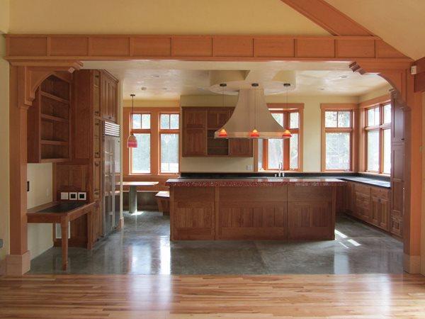 Concrete Kitchen Floors, Radiant Heat Concrete Floors Alchemy Construction Inc Arcata, CA