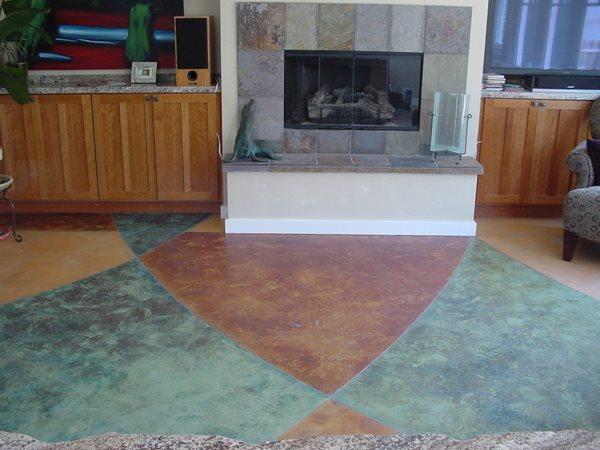 Concrete Floors Diamond D Company Capitola, CA