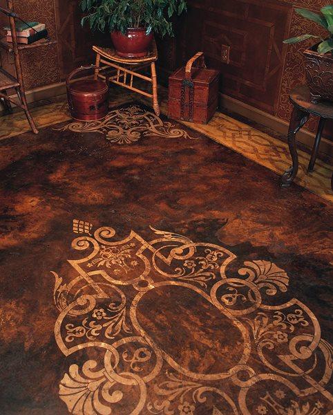 Elegant, Antique Concrete Floors Modello Designs Chula Vista, CA