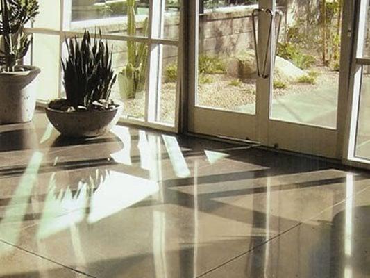 Entrance, Polished, Shine Concrete Floors Giordano Custom Concrete Inc. Danvers, MA