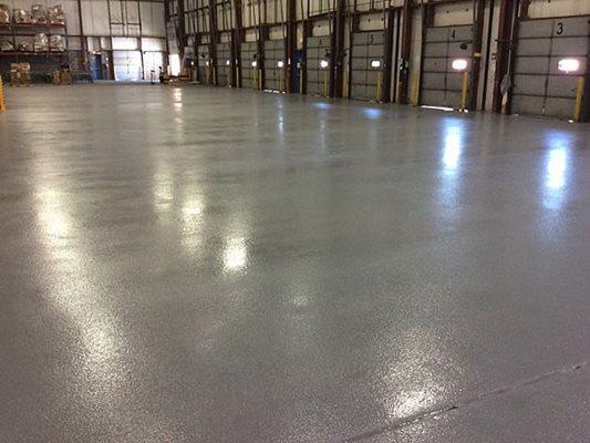 Epoxy, Warehouse Concrete Floors Dragon Scale Flooring Laurel, MD