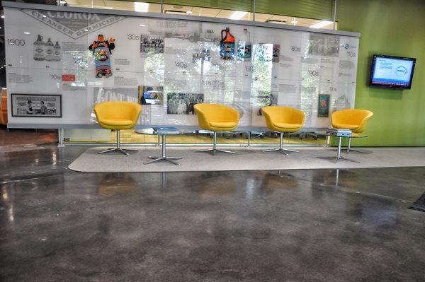 Gray, Clorox Concrete Floors Concrete Masters Atlanta, GA
