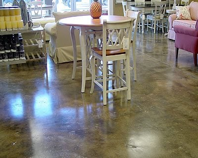 Gunite, Textured Concrete Floors It's A Work Of Art West Palm Beach, FL