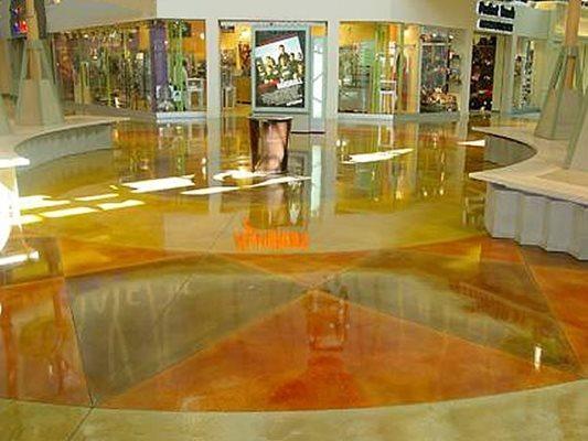 High Gloss, Mall Concrete Floors GLC3 Concrete Plantation, FL