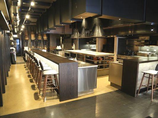 Kitchen, Restaurant, Polished Concrete Floors Chicago Architectural Contractors Elmwood Park, IL
