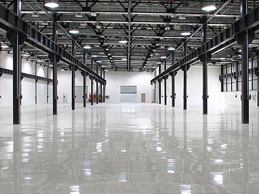 Light, Warehouse Concrete Floors Intelli-Crete, Inc Tampa, FL