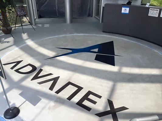 Logo, Custom Design Concrete Floors Stellar Surfaces Inc Huntington Beach, CA