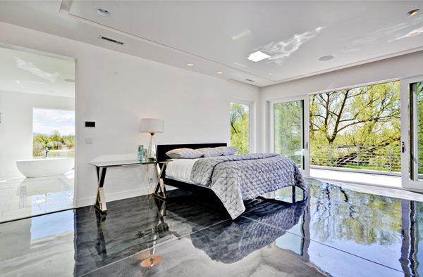 Master Bedroom Concrete Floor Coating Concrete Floors Westcoat San Diego, CA