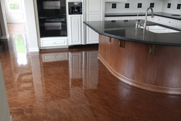 Metallic Epoxy Coating Concrete Floors Concrete Solutions San Diego, CA