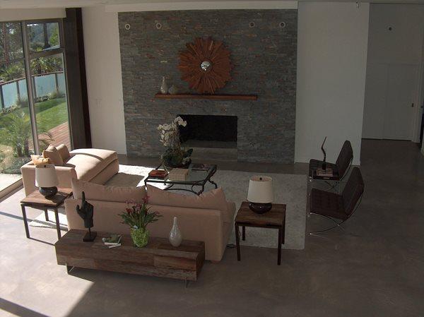 Micro Topping Concrete Floors Colors On Concrete Ontario, CA