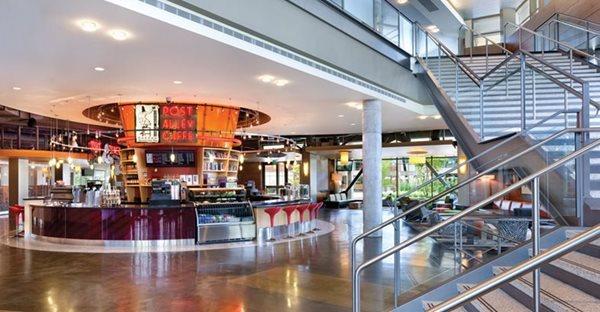 Microsoft, Caffe, Polished Concrete Floors Deco-Pour/Harvey Construction Inc Everett, WA