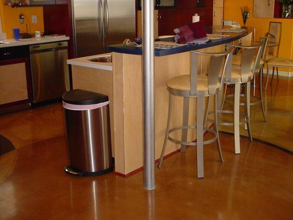 Multi Colored Concrete Floors Artcon Decorative Concrete Hamilton, MT