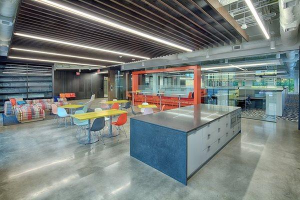 Office, Polished Concrete Floors Robles Concrete Services Lawrenceville, GA